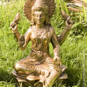 Lakshmi - messing beeld - India - overvloed - abundace